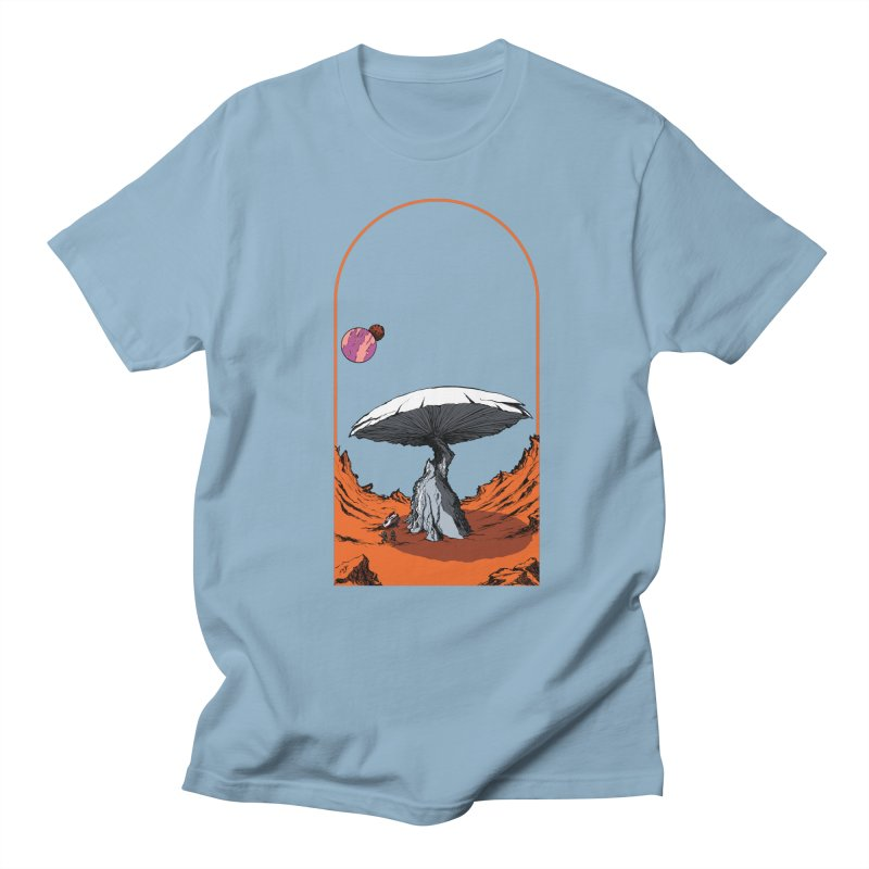 Marooned! Men's T-Shirt by Sebastian Illustation's Chop Shop