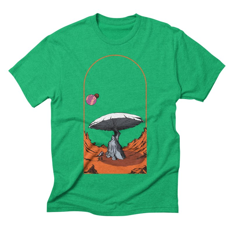 Marooned! Men's Triblend T-shirt by Sebastian Illustation's Chop Shop