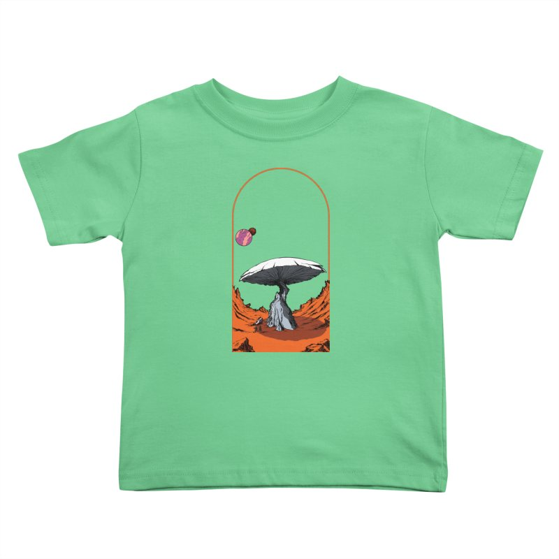 Marooned! Kids Toddler T-Shirt by Sebastian Illustation's Chop Shop