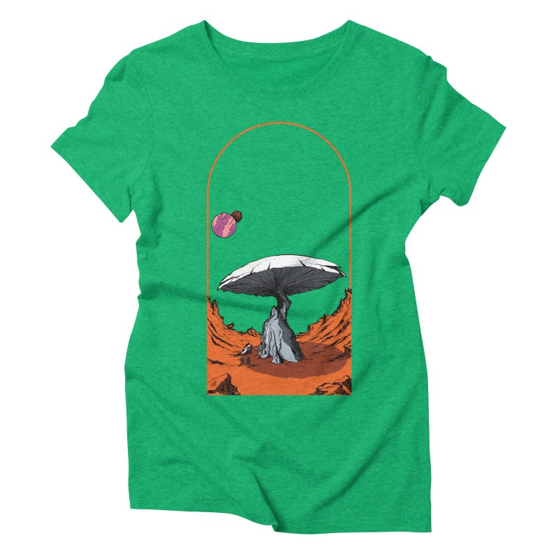 Marooned! Women's Triblend T-Shirt by Sebastian Illustation's Chop Shop