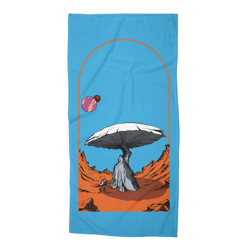 Marooned! Accessories Beach Towel by Sebastian Illustation's Chop Shop