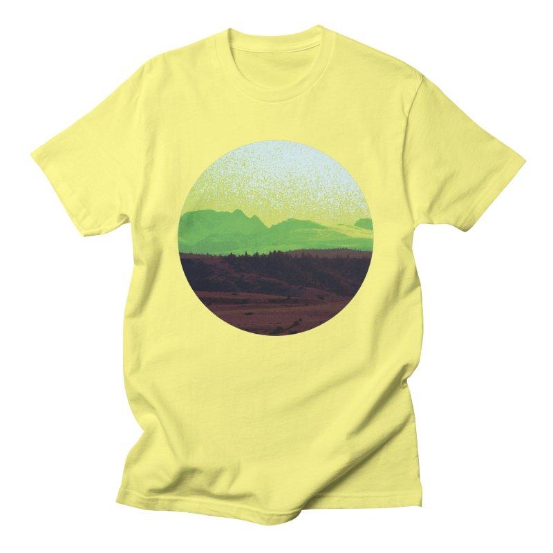 High Plains Drifter Men's T-Shirt by Sebastian Illustation's Chop Shop