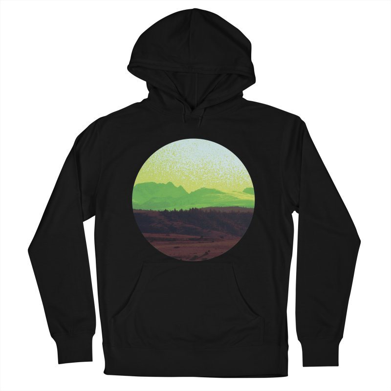 High Plains Drifter Men's Pullover Hoody by Sebastian Illustation's Chop Shop