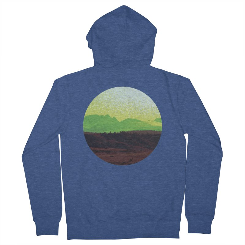 High Plains Drifter Women's Zip-Up Hoody by Sebastian Illustation's Chop Shop