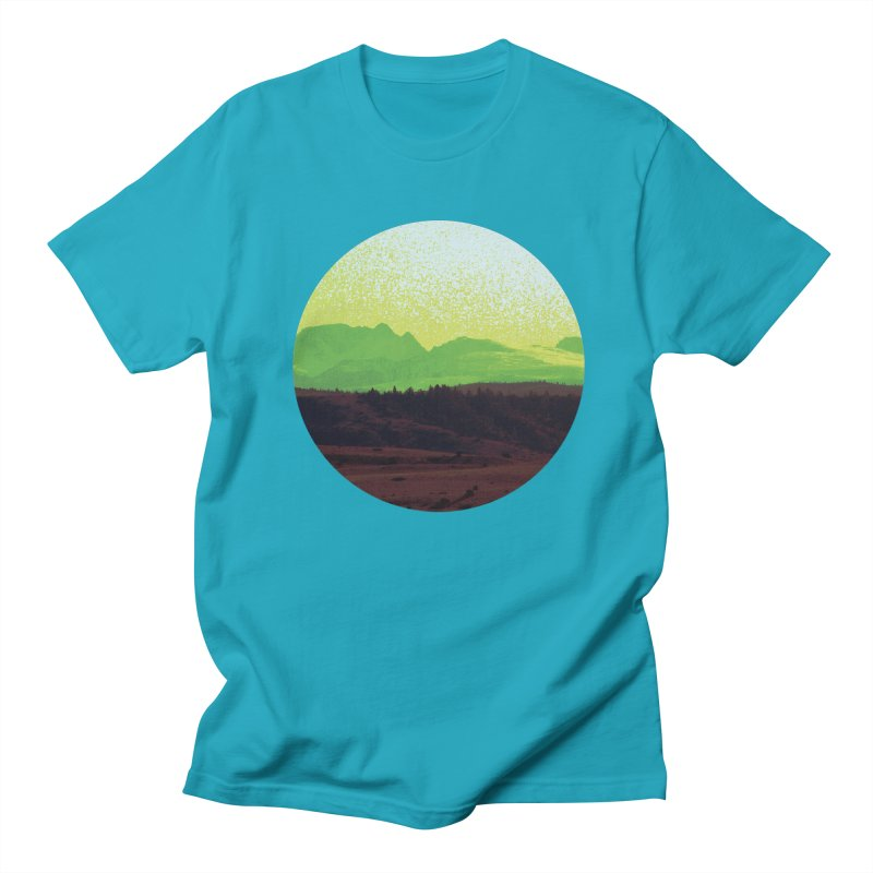 High Plains Drifter Men's T-shirt by Sebastian Illustation's Chop Shop