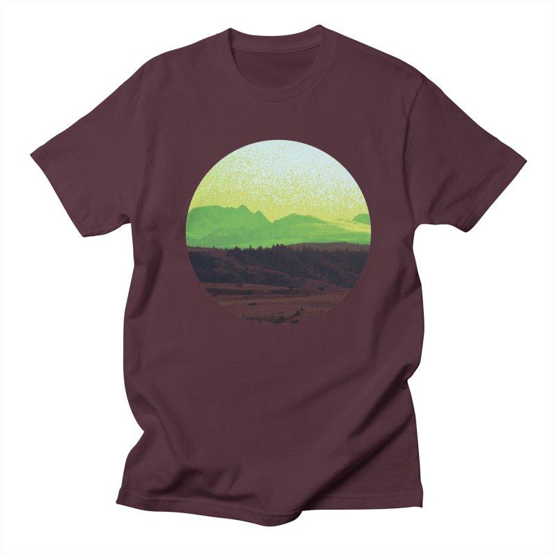 High Plains Drifter Men's Regular T-Shirt by Sebastian Illustation's Chop Shop