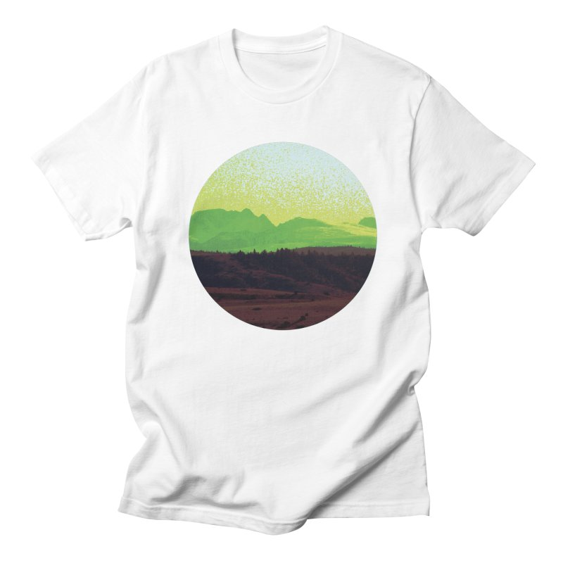 High Plains Drifter Men's Regular T-Shirt by Sebastian Illustation's Chop Shop