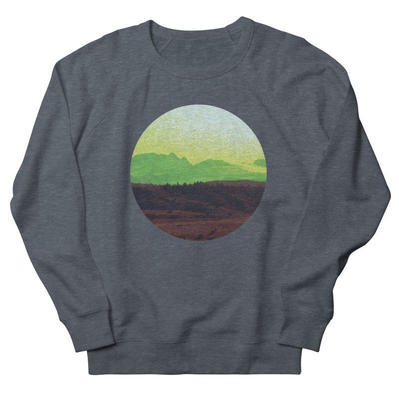 High Plains Drifter Women's French Terry Sweatshirt by Sebastian Illustation's Chop Shop