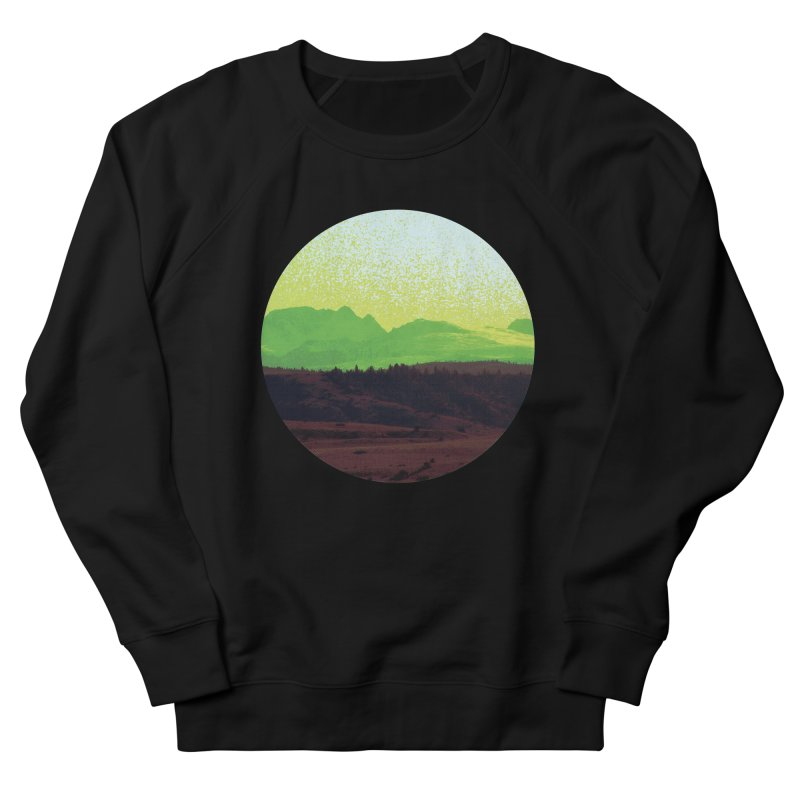 High Plains Drifter Women's French Terry Sweatshirt by Sebastian Illustation's Chop Shop