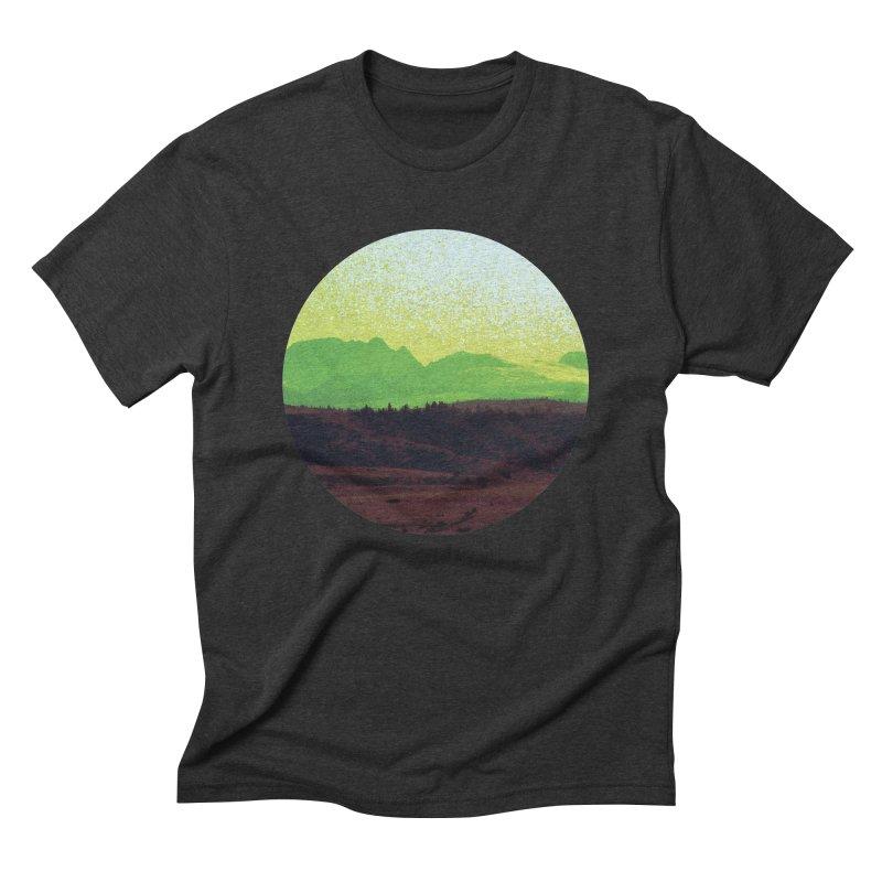 High Plains Drifter Men's Triblend T-Shirt by Sebastian Illustation's Chop Shop