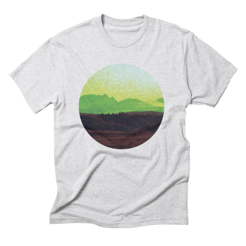 High Plains Drifter Men's Triblend T-Shirt by Sebastian Illustation's Chop Shop