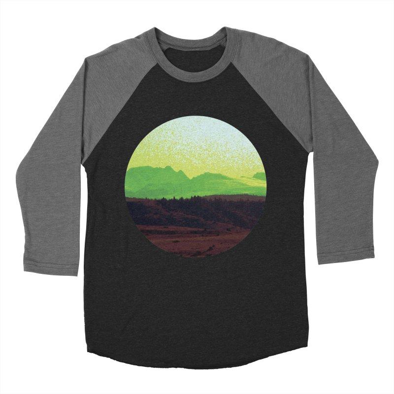 High Plains Drifter Women's Baseball Triblend T-Shirt by Sebastian Illustation's Chop Shop