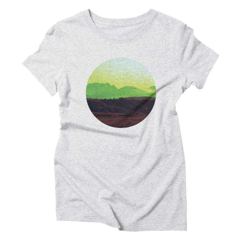 High Plains Drifter Women's Triblend T-Shirt by Sebastian Illustation's Chop Shop