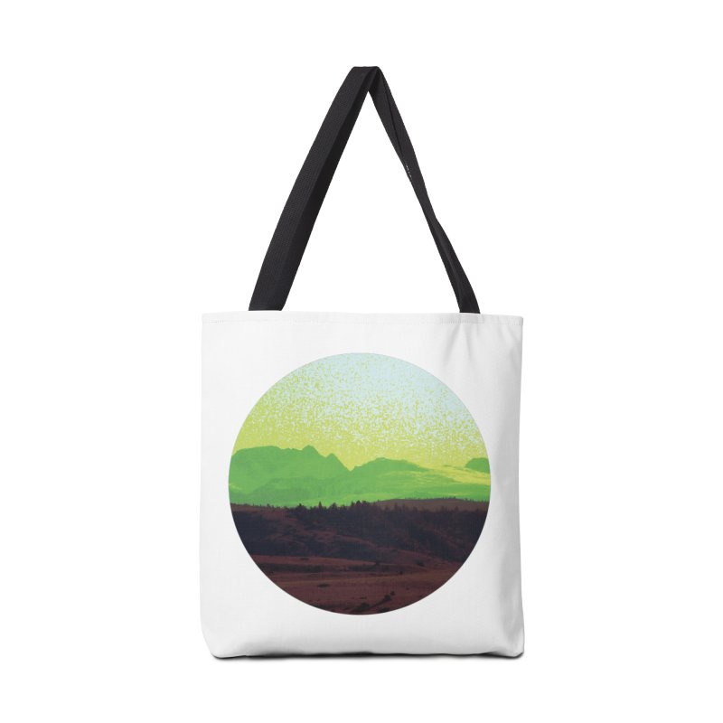 High Plains Drifter Accessories Bag by Sebastian Illustation's Chop Shop
