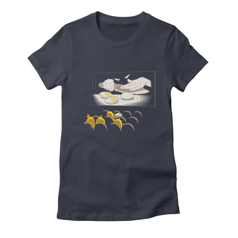 Chick bumps Women's Fitted T-Shirt by sebripoll's Artist Shop