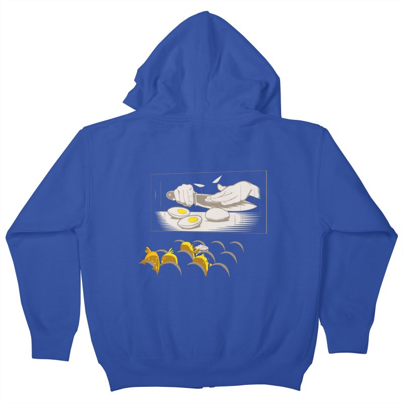 Chick bumps Kids Zip-Up Hoody by sebripoll's Artist Shop