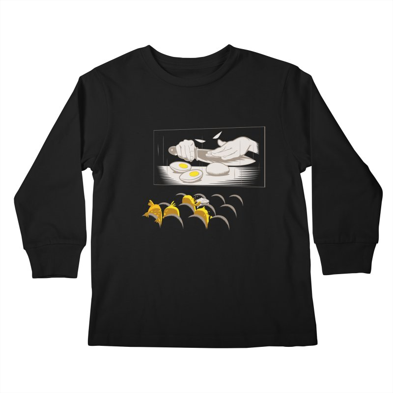 Chick bumps Kids Longsleeve T-Shirt by sebripoll's Artist Shop