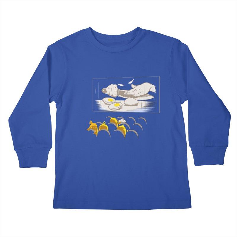 Chick bumps Kids Longsleeve T-Shirt by sebripoll's Artist Shop
