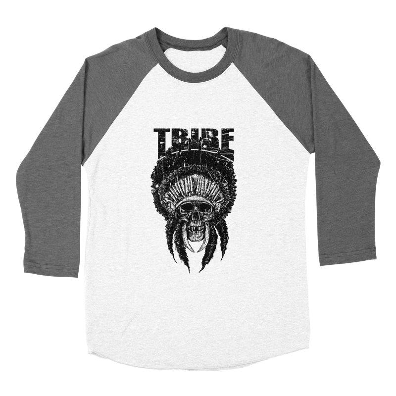 TRIBE Men's Baseball Triblend T-Shirt by sebrodbrick's Artist Shop