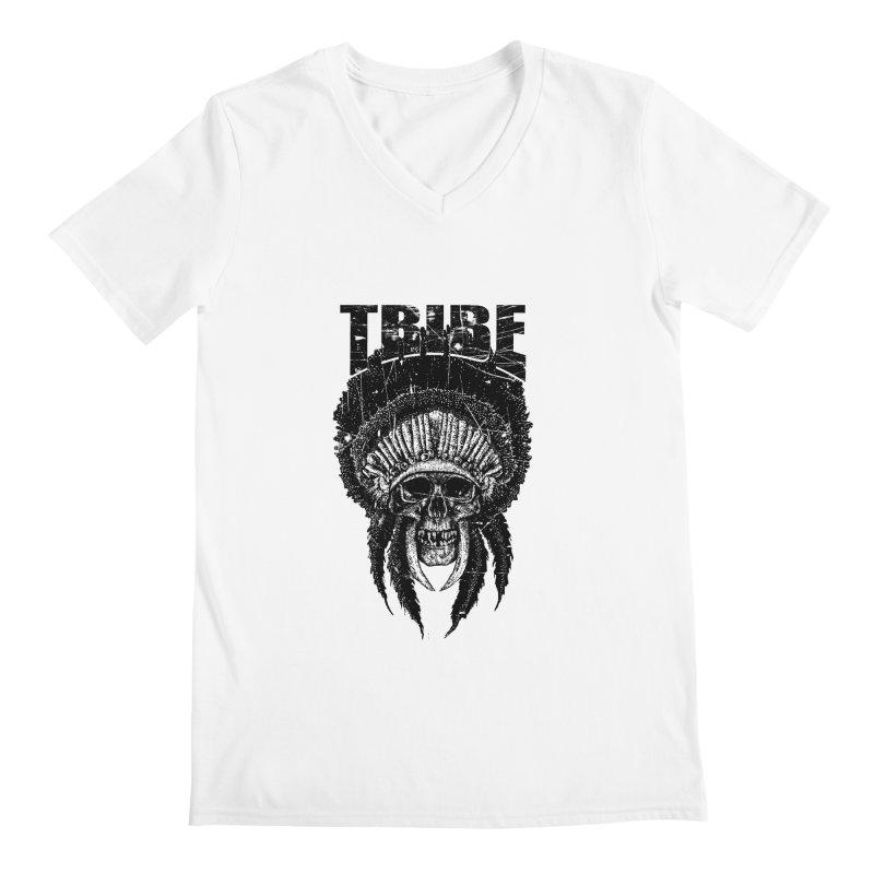TRIBE Men's Regular V-Neck by sebrodbrick's Artist Shop