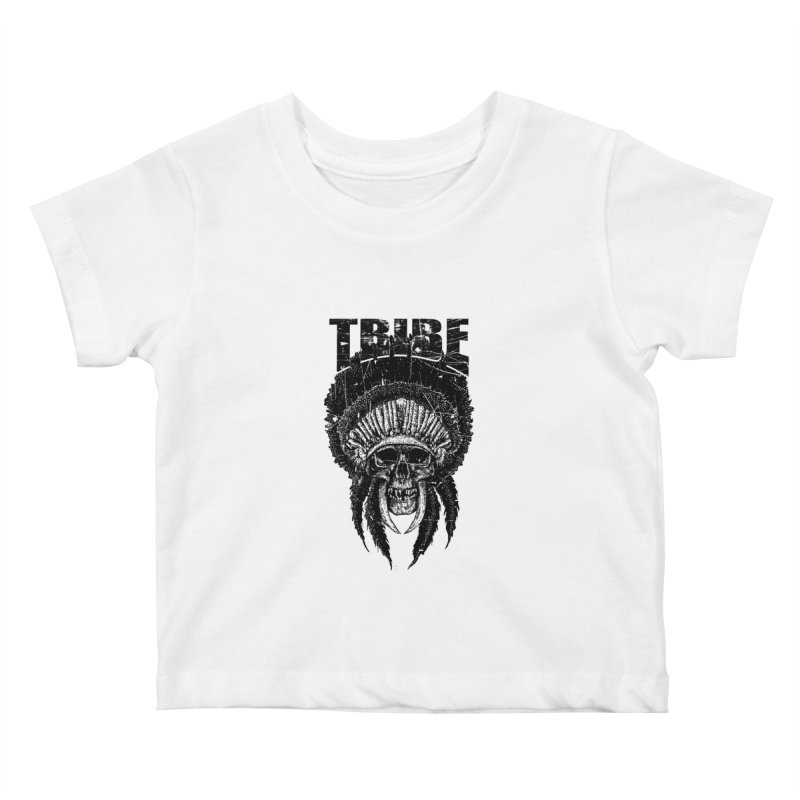 TRIBE Kids Baby T-Shirt by sebrodbrick's Artist Shop