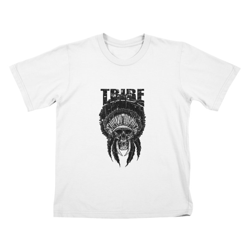 TRIBE Kids T-Shirt by sebrodbrick's Artist Shop