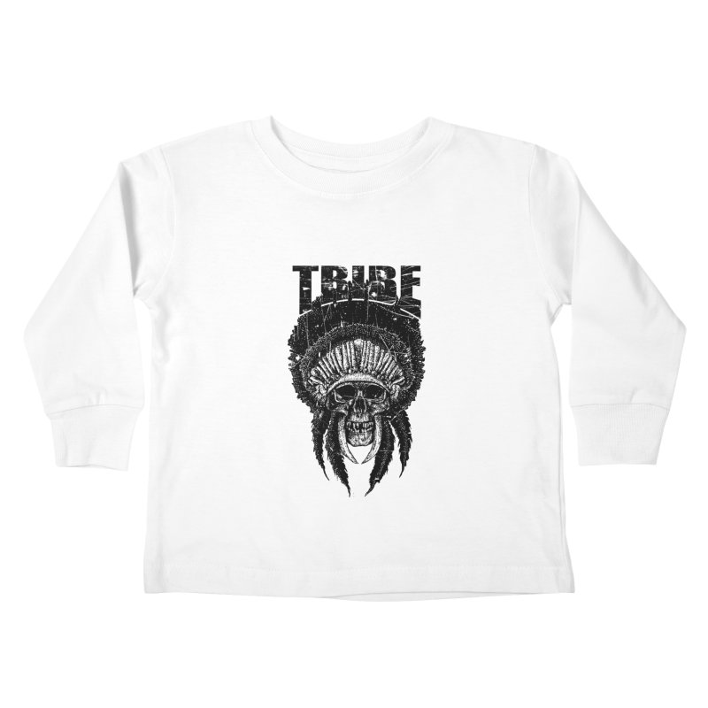 TRIBE Kids Toddler Longsleeve T-Shirt by sebrodbrick's Artist Shop