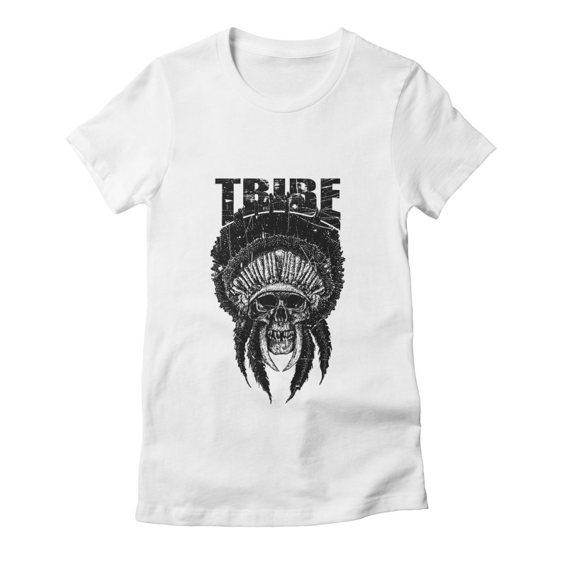 TRIBE Women's Fitted T-Shirt by sebrodbrick's Artist Shop