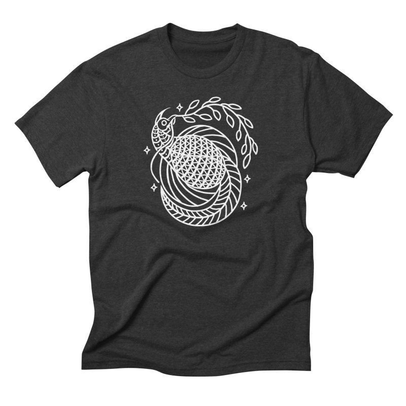 Bird of peace Men's Triblend T-Shirt by sebrodbrick's Artist Shop