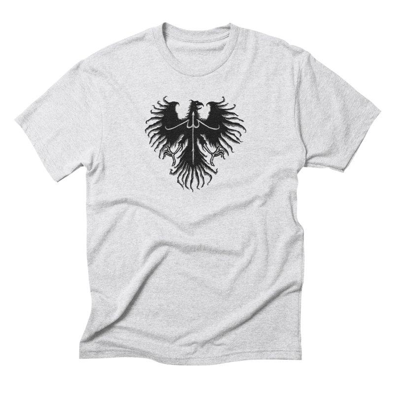 Black Eagle Men's Triblend T-Shirt by sebrodbrick's Artist Shop