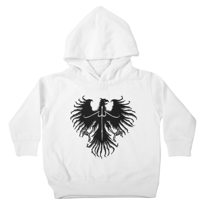 Black Eagle Kids Toddler Pullover Hoody by sebrodbrick's Artist Shop