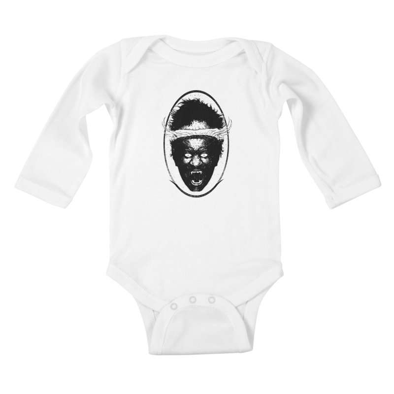 Boiling head Kids Baby Longsleeve Bodysuit by sebrodbrick's Artist Shop