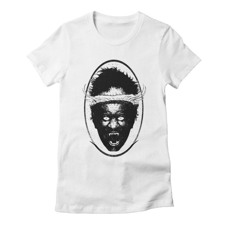 Boiling head Women's Fitted T-Shirt by sebrodbrick's Artist Shop