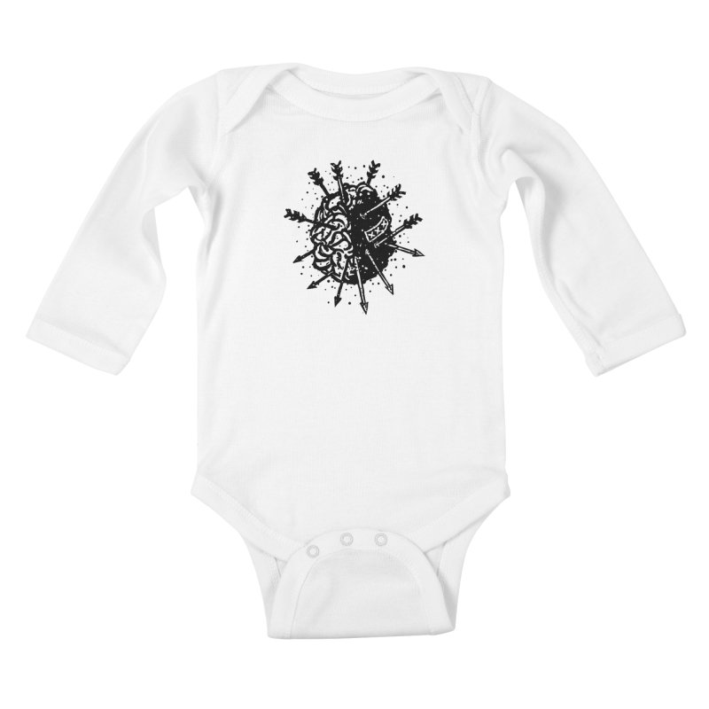 Brain Dead Kids Baby Longsleeve Bodysuit by sebrodbrick's Artist Shop