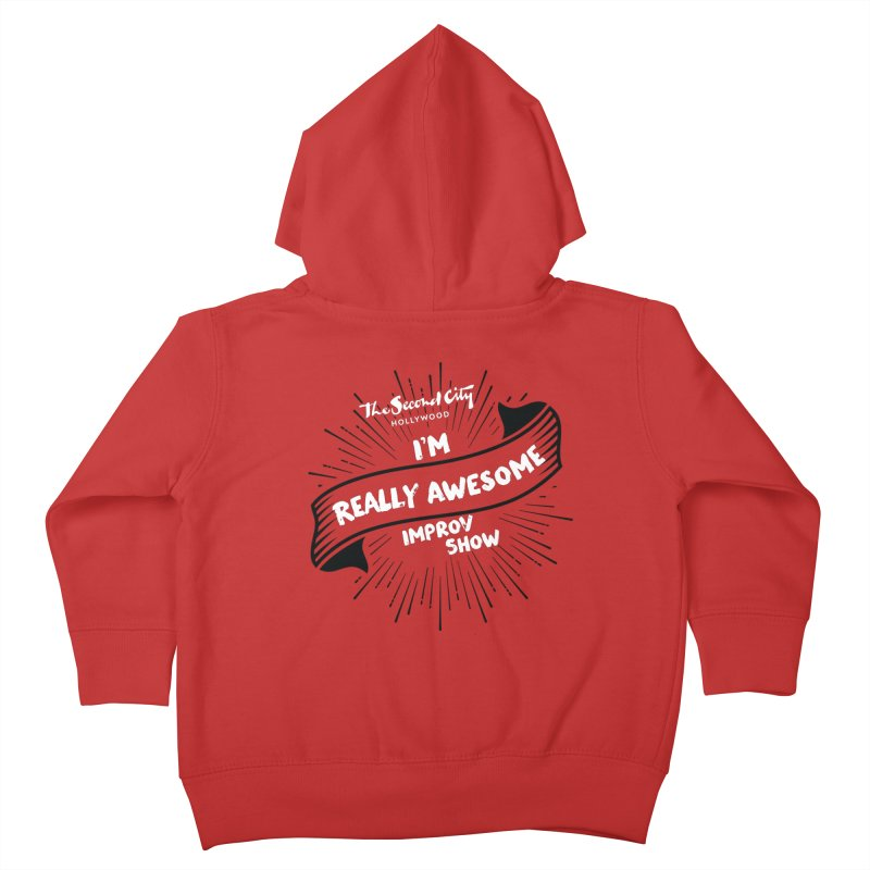 Really Awesome Improv Show Kids Toddler Zip-Up Hoody by The Second City