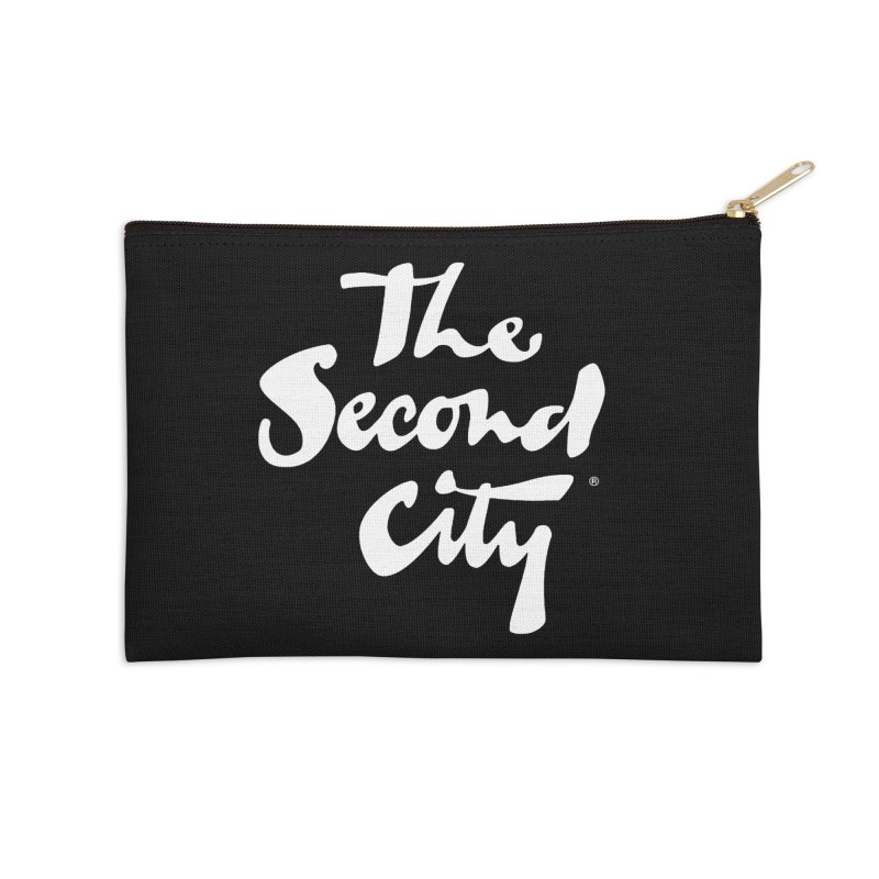 The Flagship Accessories Zip Pouch by secondcity's Artist Shop