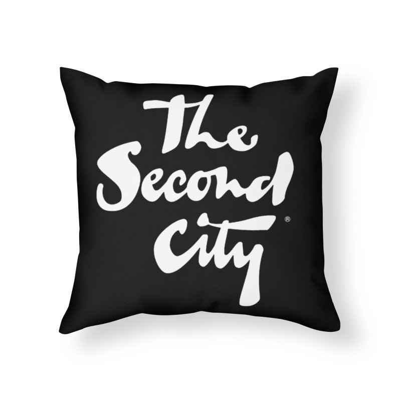 The Flagship Home Throw Pillow by The Second City