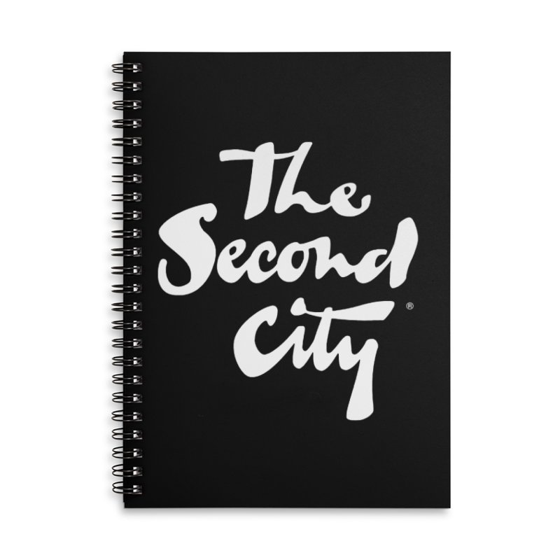 The Flagship Accessories Lined Spiral Notebook by The Second City