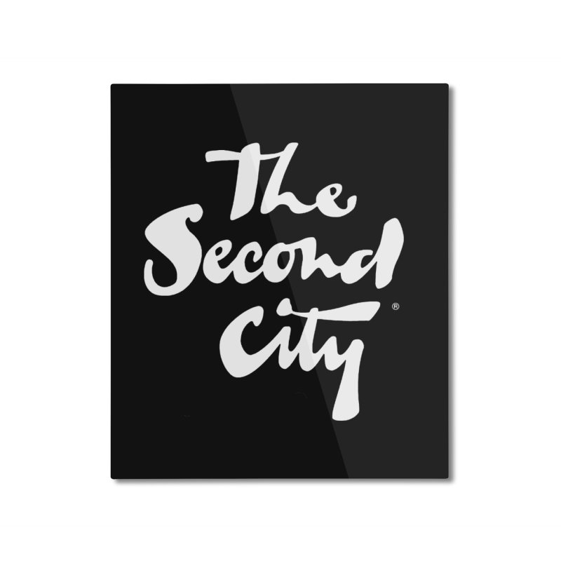 The Flagship Home Mounted Aluminum Print by secondcity's Artist Shop