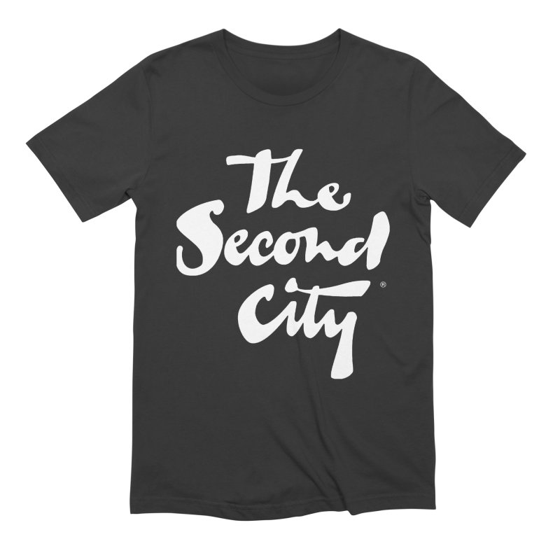 The Flagship in Men's Extra Soft T-Shirt Smoke by The Second City