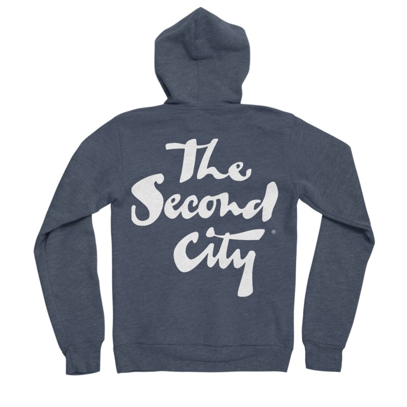 The Flagship Men's Sponge Fleece Zip-Up Hoody by The Second City