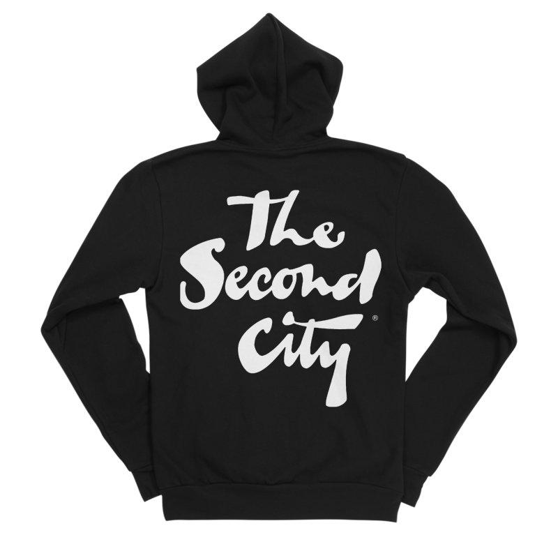 The Flagship Men's Sponge Fleece Zip-Up Hoody by The Second City