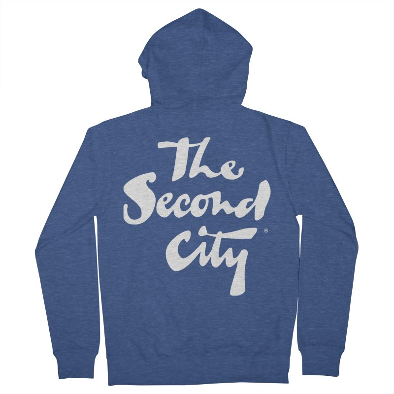 The Flagship Women's French Terry Zip-Up Hoody by secondcity's Artist Shop
