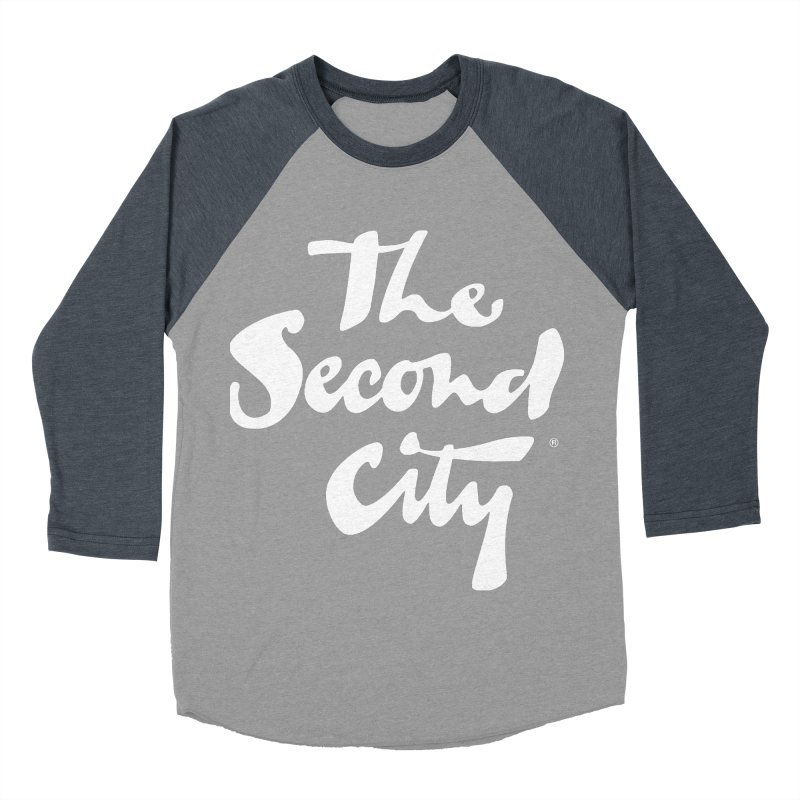 The Flagship Men's Baseball Triblend Longsleeve T-Shirt by The Second City