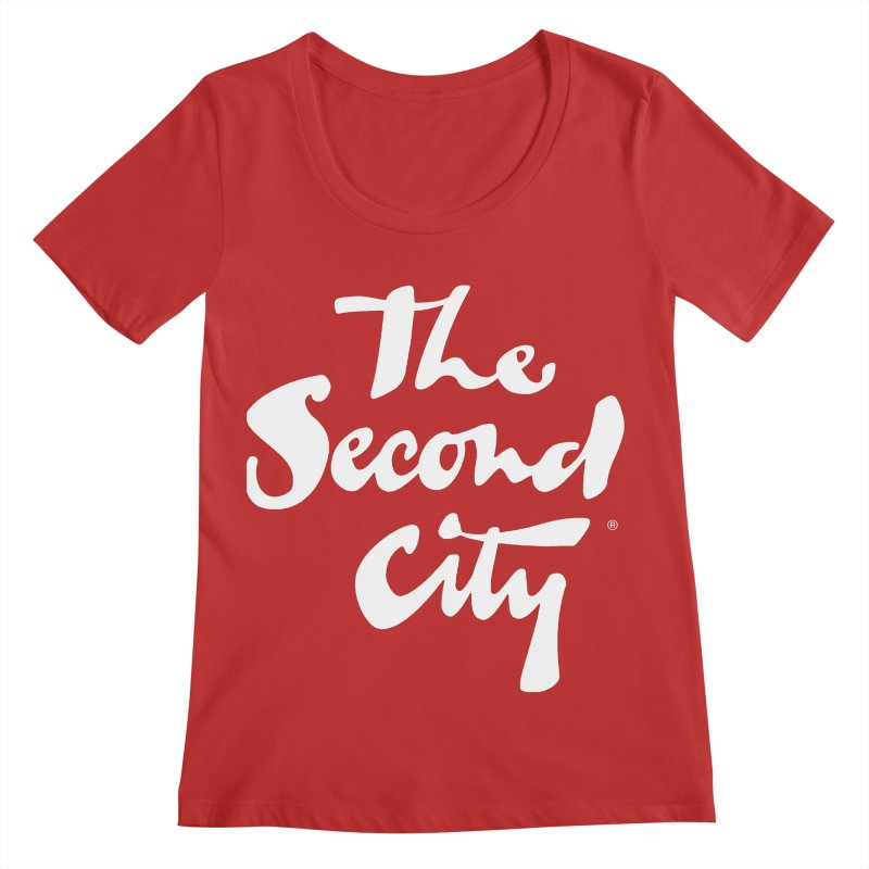 The Flagship Women's Regular Scoop Neck by The Second City