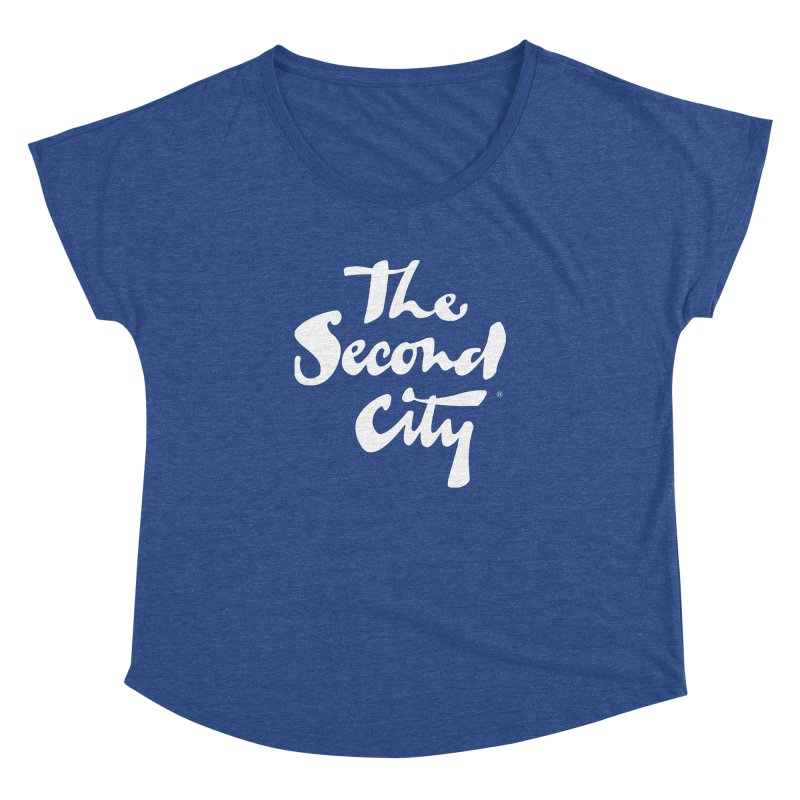 The Flagship Women's Dolman Scoop Neck by The Second City