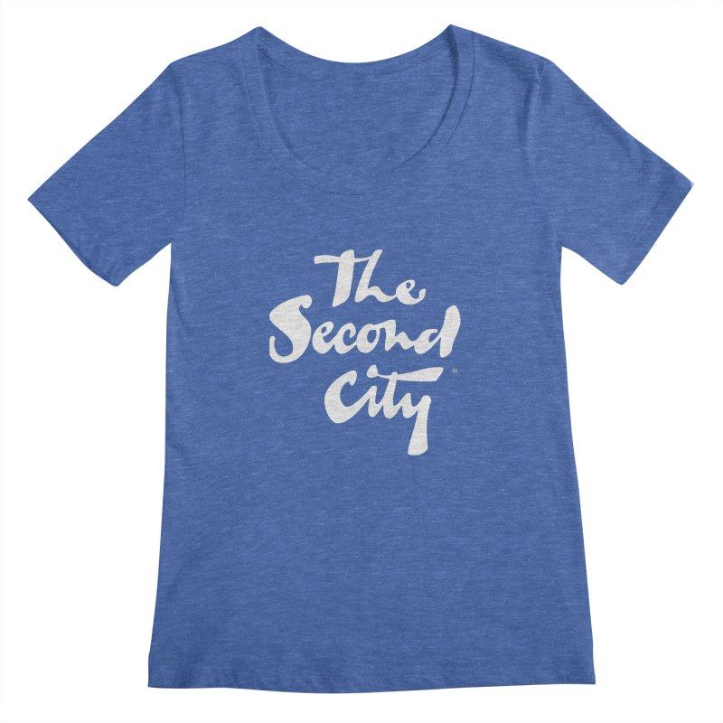 The Flagship Women's Regular Scoop Neck by secondcity's Artist Shop