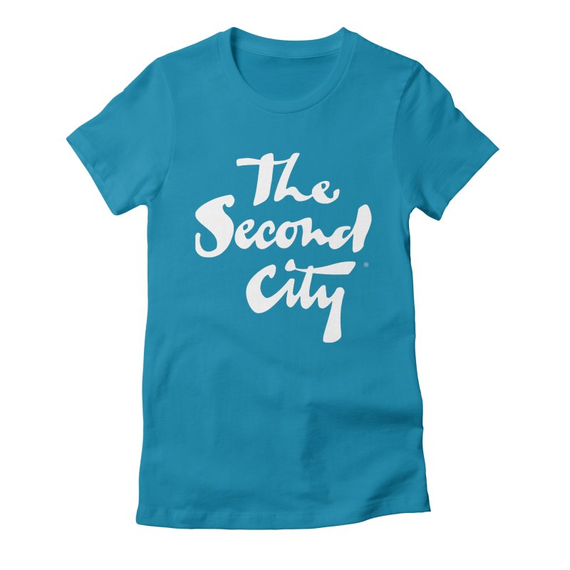 The Flagship Women's Fitted T-Shirt by secondcity's Artist Shop