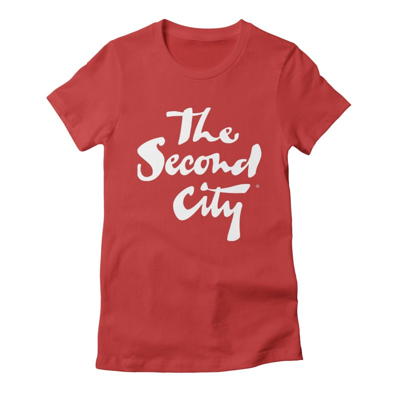 The Flagship Women's Fitted T-Shirt by The Second City