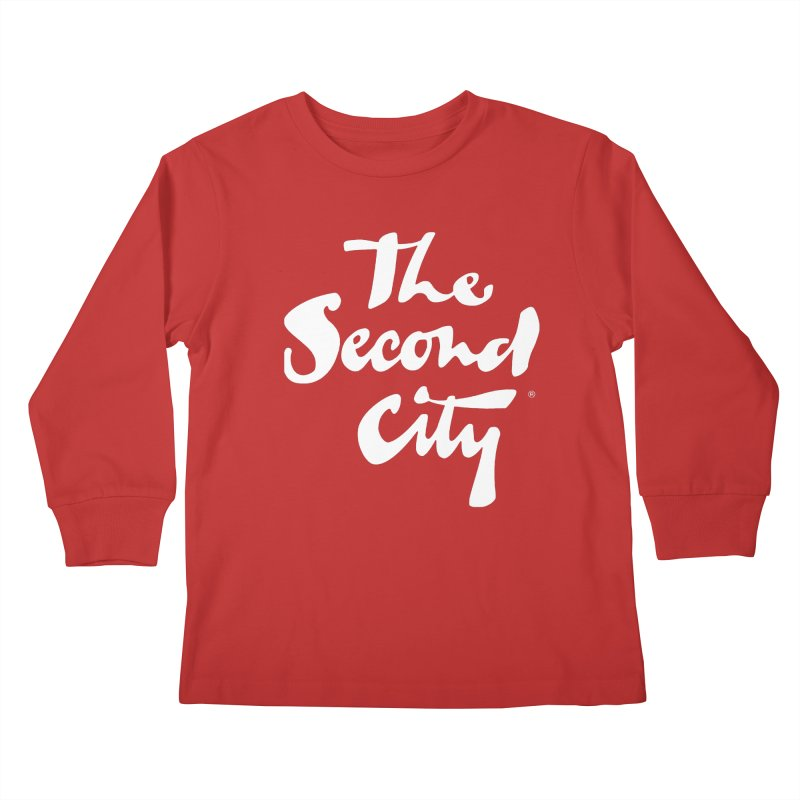 The Flagship Kids Longsleeve T-Shirt by secondcity's Artist Shop